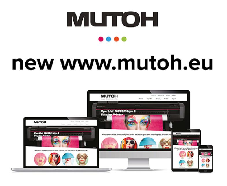 Mutoh EMEA Create New Dynamic Website Platform
