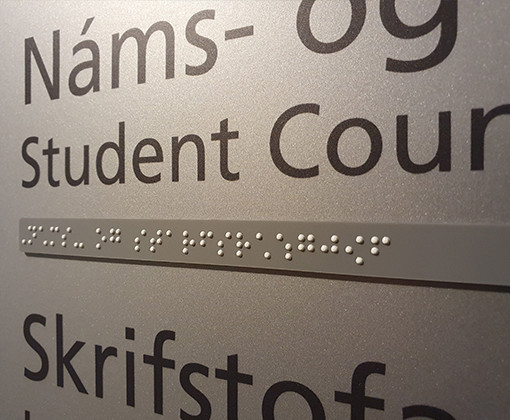 Braille Public Facilities