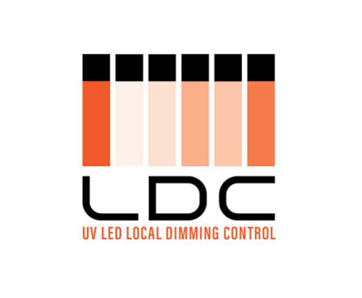UV LED Local Dimming Control