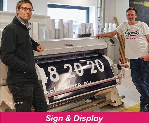 Promo Signs - Signage and Large Format Jobs