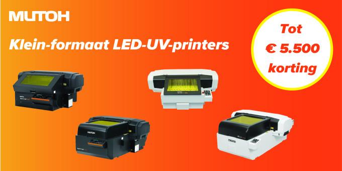Doe grootse dingen met een Mutoh A3/A2 LED-UV-desktopprinter!